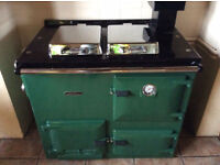 RAYBURN 300 NATURAL GAS FIRED COOKER & CENTRAL HEATING BOILER