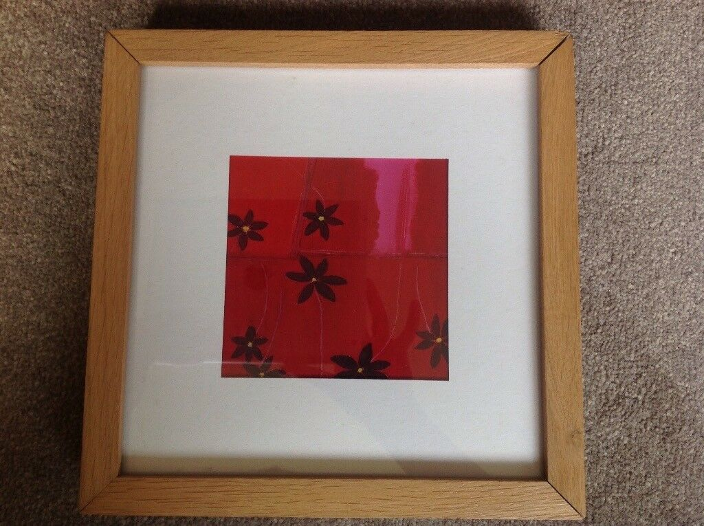 3 Ikea Ribba picture frames