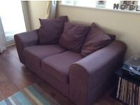 2 Brown Sofas *Open to Offers*