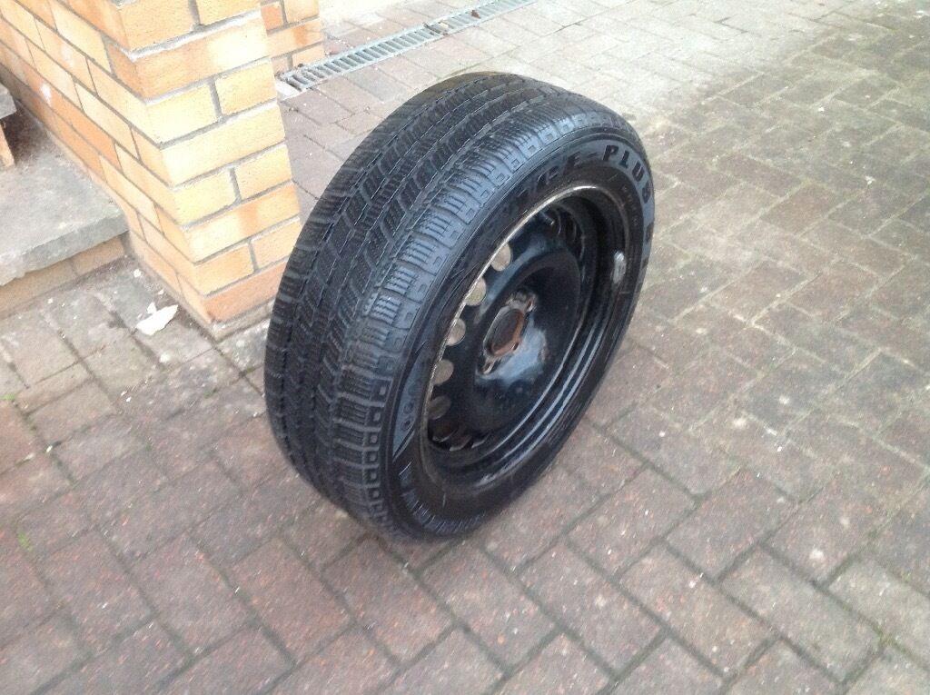 Winter tyres plus wheels. 205/55 R16. Ice-plus s110. Full set