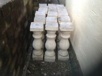 concrete balustrades