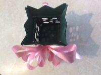 Living flower vase (delivery box) - PLASTIC