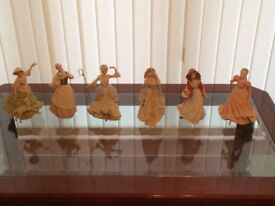 Wedgewood collection of fairytale figurines