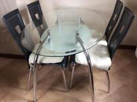 Table and 4 chairs FREE