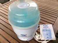 Avent Steam Steriliser - works perfectly