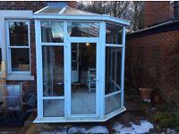 Small conservatory, porch, sun room