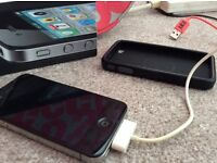 iPhone 4 with charger - £50 - offers welcome