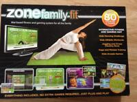 Zone family fit mat / yoga game