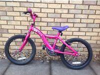 "Girls Apollo Star 18"" Bike"