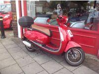 Lexmoto Vienna 125cc scooter