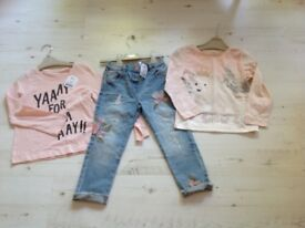 NEW WITH TAGS GIRLS NEXT BUNDLE 4-5 years