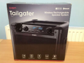 Ion Audio Tailgater iPA77 50W Portable PA System with FM Radio & Bluetooth