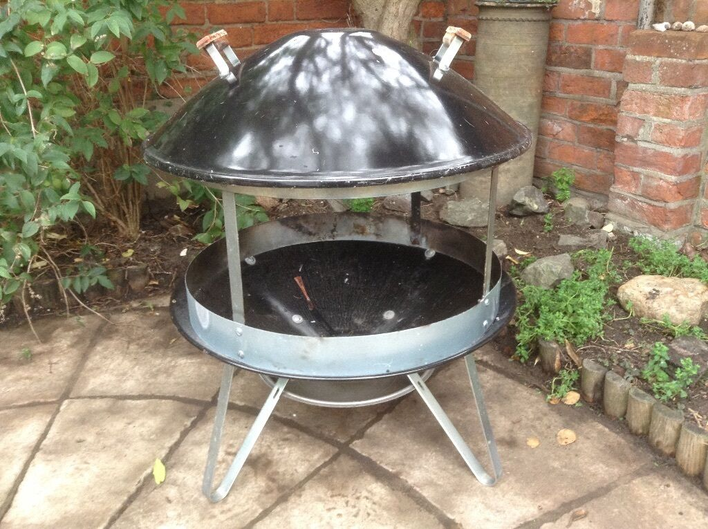 Weber Fireplace Fire Pit With Cover Rrp 163 254 99 Amp 163 39 99