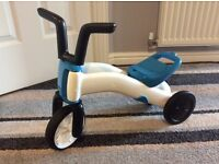 Chillafish 2 in 1 balance bike and tricycle