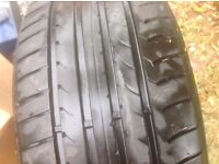 Car Tyre, never used, spec. 225/50R16 92W