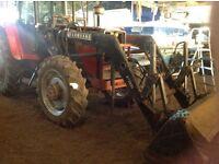 Massey Ferguson 698 Tractor front loader