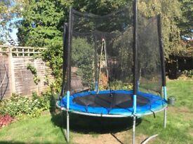 2m diameter trampoline including pads and net
