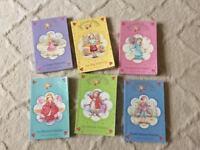 A set of six Poppy Princess books