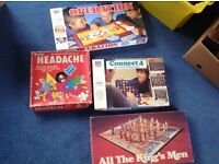 Lots of board games