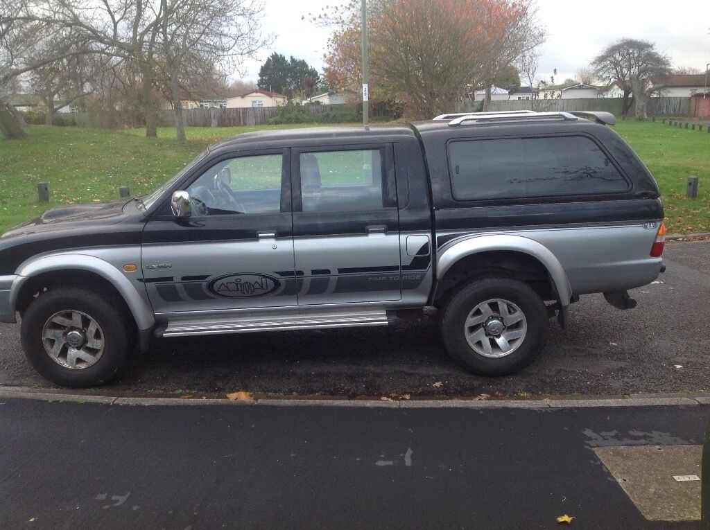 ANIMAL L200 2.5TD GOOD SOLID TRUCK WITH STRONG ENGINE AND CLUTCH KNOW OIL LEAKS