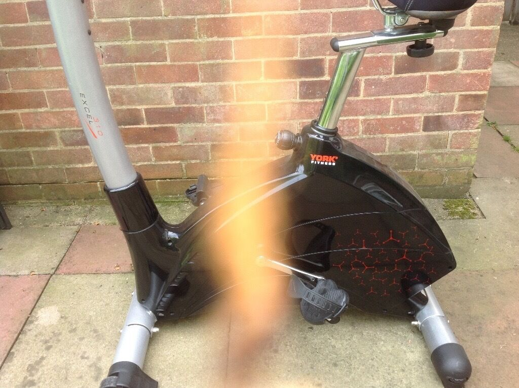 york fitness exercise bike excel 310 used good condition in welwyn