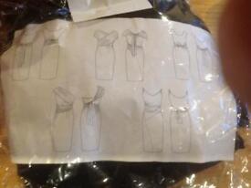 Avon wrap around dress.