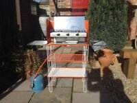 Camping Stove with Kitchen Stand