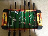Mini football table top game