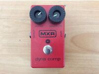 NXR Dynacomp Compression Guitar Pedal + Box
