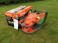 FLYMO Glider 350 lawnmower, bought May '18 used only once. As new.
