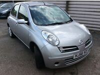 56 Nissan Micra Hatchback Silver Colour With Low Mileage and Full Service History.