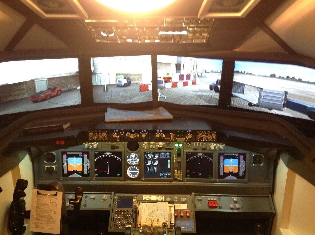how to build a 737 cockpit simulator