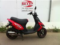 Gilera Stalker Naked 50cc , 2-stroke Scooter , 6,387 km good condition ,very quick