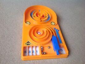 Retro pinball game