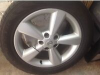 Nissan Alloy 18 inch Wheel £35 Good Condition