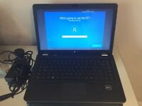 Hewlett Packard 15inch Laptop and charger