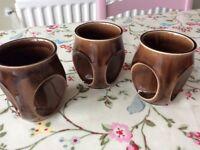 Holkham owl eye mugs