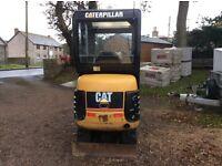 Caterpillar 301.4 mini digger 2005.