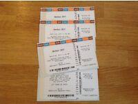 4 bonfest weekend tickets