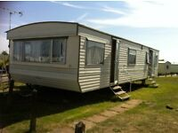 Caravan for Hire in Rye Harbour Frenchmans Beach Holiday Park next to Nature Reserve and Beaches