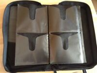 A Case Logic Zipped 32 Case Portable CD Black Storage Holder. In Good Condition
