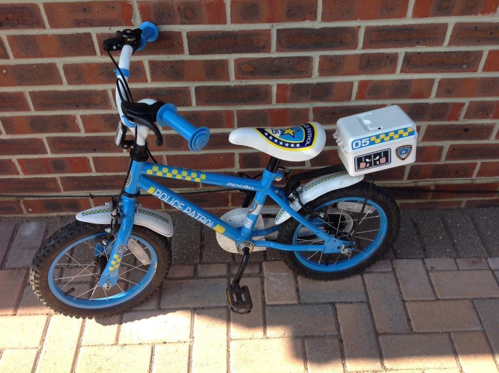 Kids Police Bike 14 Quot Wheels In Poole Dorset Gumtree