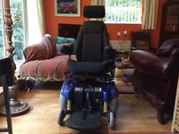 Pride Jazzy 1121 Electric Wheelchair. As new. Local delivery possible.