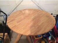 Circular Kitchen Table