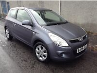 Stunning 2009 09 Hyundai i20 1.4Crdi Comfort 3Dr **2 Owners+Full History+Mot May 2017+Only £30 Tax**