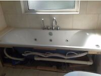 Spa Bath, not used much good condition 1700mm