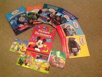 Thomas & Friends/ Bob the Builder Books.