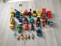 Gigantic collection BOB THE BUILDER VEHICLES & FIGURES