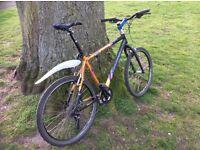 Dawes L mens' bike, upgraded fork and components