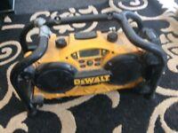 Dewalt radio spares or repair